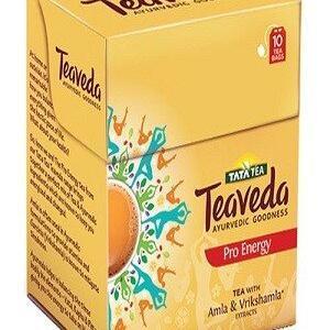 Tata Tea Teaveda Pro Energy 10 Pcs