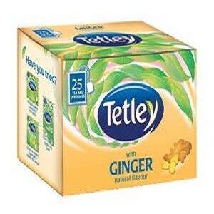 Tetley Tea Bags Ginger 25 Pcs Carton