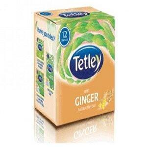 Tetley Tea Bags Ginger 12 Pcs Carton