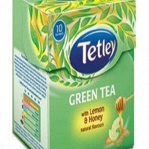 Tetley Green Tea Bags Cinnamon And Amp Honey 10 Pcs Carton
