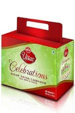 Cardamom Badam Drink Utsav Pack 6 Cans 1080 Grams
