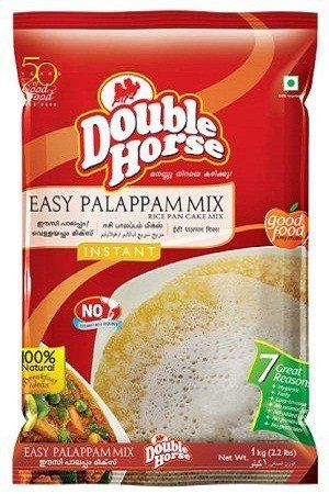 Double horse Easy Mix – Palappam, 500 gm Pouch