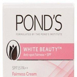 Pond's White Beauty Anti-spot fairness SPF 15 PA++ Fairness Cream 35g