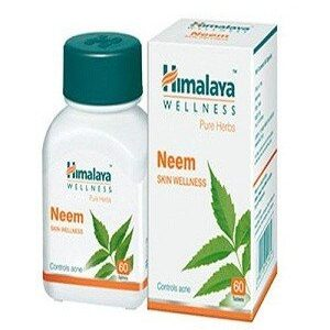 Himalaya Wellness Tablets Neem For Blood Purification 250 Grams 60 Pcs
