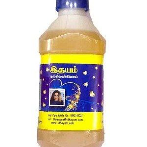 Idhayam Oil Sesame 1 Litre Can
