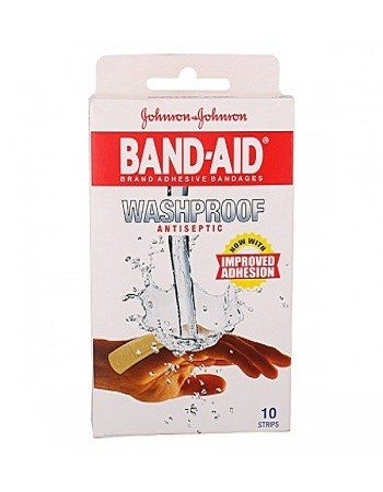 Johnson & Johnson Band-Aid – Washproof, 10 pcs