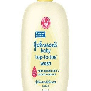 Johnson & Johnson Top-to-Toe Wash, 200 ml
