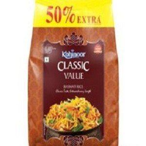 Kohinoor Basmati Rice – Classic Value, 2 kg ( 1 kg Extra )