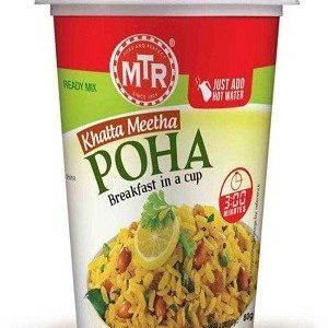 MTR Breakfast in a Cup: Khatta Meetha Poha 80g