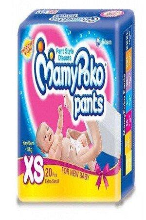 Mamypoko Pants For New Born, 3-5 kg, 10 pcs
