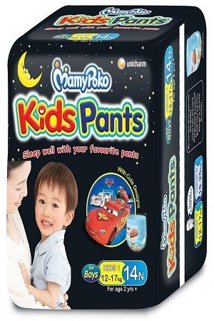 Mamy Poko Pants Kids, For Boys 12-17 kg, 14 pcs