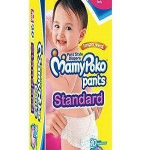 Mamy Poko Standard Pants – Medium, 7-12 Kg, 36 pcs Pouch