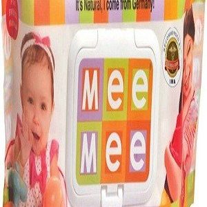 Mee Mee Premium Wet Wipes, 80 pcs Pouch ( Pack of 2 )