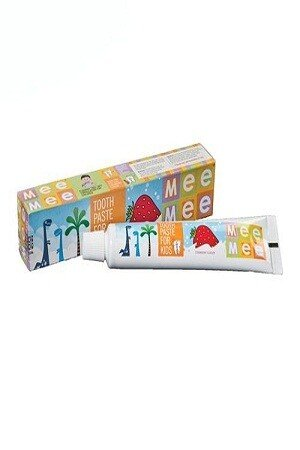 Mee Mee Toothpaste for kids Fluoride Free Strawberry Flavor 1 pc