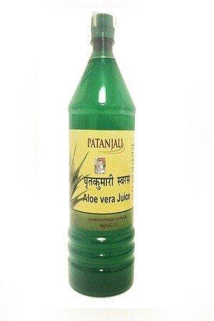 Patanjali Aloe Vera Juice Plain 1 Litre