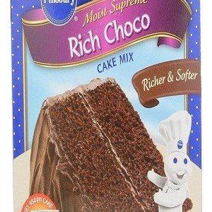 Pillsbury Cake Mix – Moist Supreme Rich Choco, 285 gm Carton
