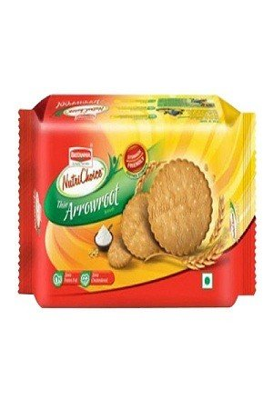 Britannia Nutri Choice Cookies Thin Arrowroot Biscuits 150 Grams Pouch