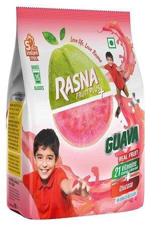 Rasna Fruit Plus Guava 500 Grams Pouch