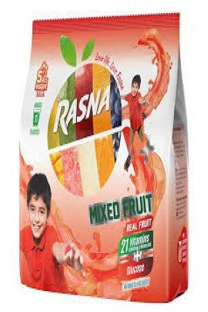 Rasna Fruit Plus Mixed Fruit 500 Grams Pouch