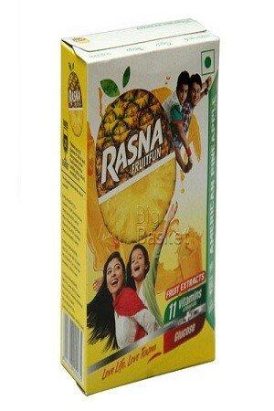 Rasna Fruitfun American Pineapple Flavour 1 nos Carton