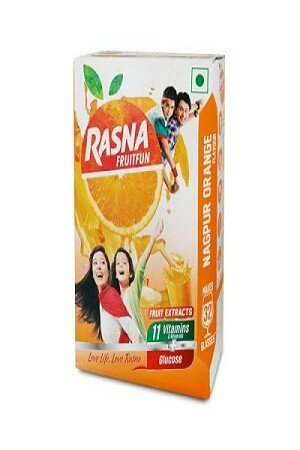 Rasna Fruitfun – Litchi Flavor, 120 gm (32 Glasses) Carton