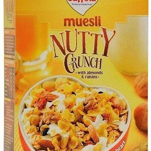 Saffola Muesli – Nutty Crunch, 225 gm Carton