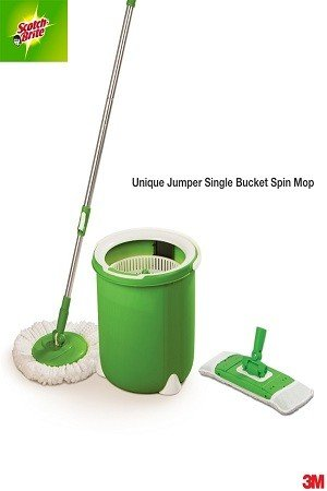 Scotch brite Jumper Spin Mop – Flat, Refill, 1 pc