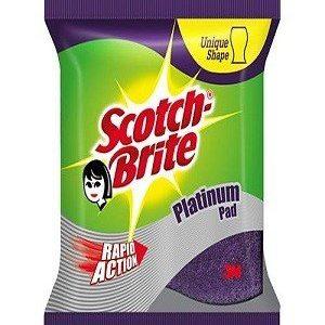 Scotch Brite Scrub Pad – Platinum, Large, 1 Pc