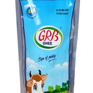 GRB Ghee, 200 Ml Pouch