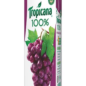 Tropicana 100 Percent Juice Grape 1000 Ml