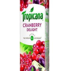 Tropicana Delight Fruit Juice Cranberry 1000 Ml Tetra