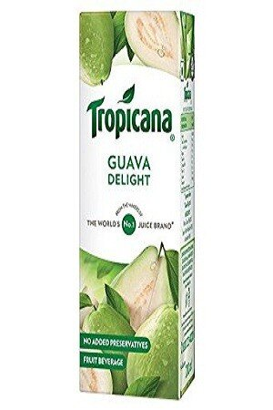 Tropicana Delight Fruit Juice Guava 200 Ml Tetra