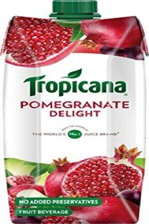Tropicana Delight Fruit Juice Pomegrante 500 Ml