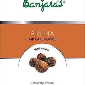 Banjaras Powder Pure Herb Aritha 100 Grams
