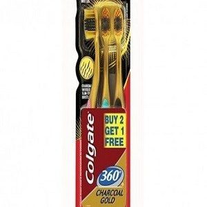 Colgate Toothbrush 360 Gold 3 Pcs Buy 2 Get 1 Free