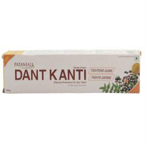 Patanjali Dant Kanti Regular Dental Cream 100 Grams Carton