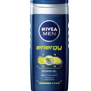 Nivea Shower Gel Energy For Men 250 Ml