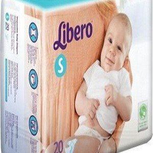 Libero Open Diapers – S, 20 pc