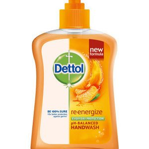 Dettol Hand Wash PH Balanced Reenergize 185 Ml Pack Of 2