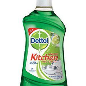 Dettol Kitchen, Dish and Slab gel – Lime Splash, 750 ml Bottle