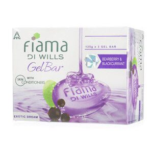 Fiama Di Wills Gel Soap Bearberry Blackcurrant Exotic Dream 125 Grams Pack Of 3