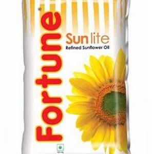 Fortune Sunflower Refined Oil Sun Lite 910 Grams Pouch