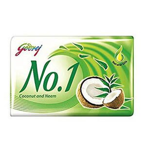 Godrej No 1 Bathing Soap Coconut And Neem 100 Grams Pack Of 3 Plus 1