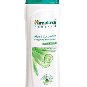 Himalaya Refreshing Body Lotion Aloe And Amp Cucumber 100 Ml Bottle