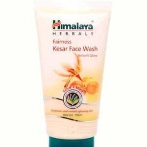 Himalaya Face Wash Fairness Kesar 100 Ml