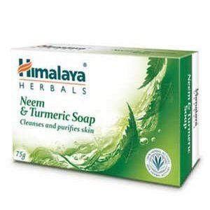 Himalaya Soap Neem And Turmeric 75 Grams Carton