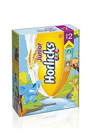 Horlicks Junior Health And Nutrition Drink Original Flavour Stage 2 4 6 years 500 gm Carton
