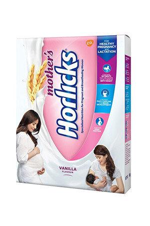 Horlicks Mothers Health And Nutrition Drink Vanilla Flavor 200 Grams Carton