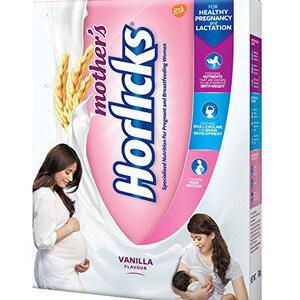 Horlicks Mother's Health And Nutrition Drink Vanilla Flavour 450 gm Carton