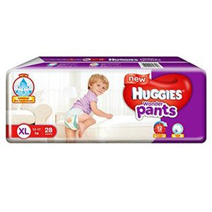 Huggies Wonder Pants Diapers – Extra Large, 28 pcs Pouch